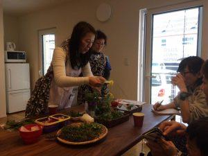 摘み菜料理
