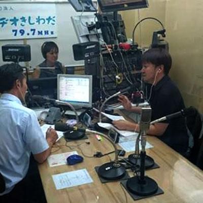 ラジオ岸和田 お庭 外構 LOHASGARDEN